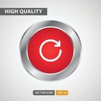 ícone de atualização para o design do seu site, logotipo, aplicativo, interface do usuário. ilustração de gráficos vetoriais e curso editável. eps 10. vetor