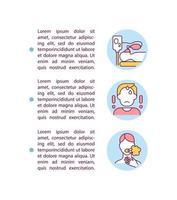 ícone do conceito de paciente cobiçoso grave com texto