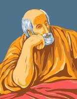 obra de arte de el greco domenikos theotokopoulos intitulada saint joseph por volta de 1600 arte em pôster wpa vetor
