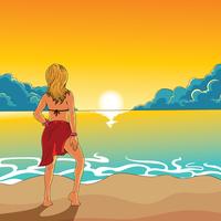 Beach Bum Ilustração