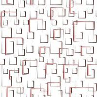 desenho abstrato desenho de padrão de objeto vetor