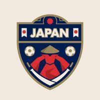 Emblemas do futebol da copa do mundo de Japão