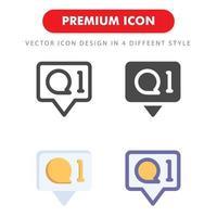 pacote de ícones de rede social isolado no fundo branco. para o design do seu site, logotipo, aplicativo, interface do usuário. ilustração de gráficos vetoriais e curso editável. eps 10. vetor