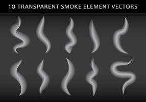 Forma de fumaça vetor