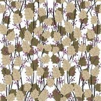 design moderno abstrato orgânico floral repetido vetor
