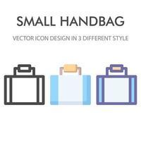 pacote de ícones de bolsa isolado no fundo branco. para o design do seu site, logotipo, aplicativo, interface do usuário. ilustração de gráficos vetoriais e curso editável. eps 10. vetor