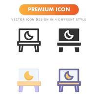 ícone de tela isolado no fundo branco. para o design do seu site, logotipo, aplicativo, interface do usuário. ilustração de gráficos vetoriais e curso editável. eps 10. vetor