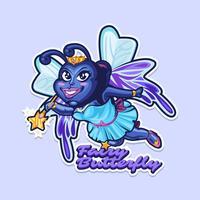 Mascote do inseto vetor