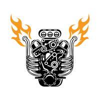 Desenho detalhado dos desenhos animados Turbo Engine