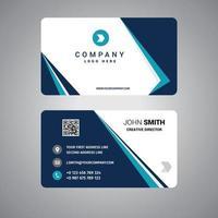 design de modelo de cartão de visita de negócios vetor