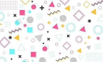 fundo de design gráfico geométrico vetor