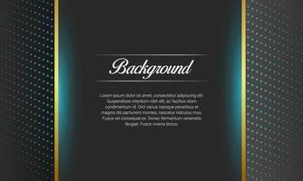 fundo de apresentação preto brilhante com meio-tom vetor