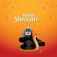 fundo do festival indiano maha shivratri vetor