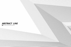 linha preta abstrata de fundo de design de capa de triângulo geométrico de forma. ilustração vetorial eps10 vetor