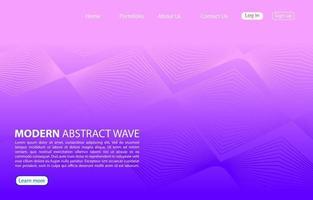 linha abstrata moderna cor background.home página abstrato design.purple fundo. vetor