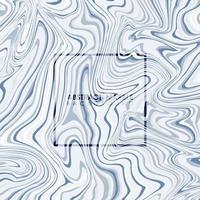 fundo abstrato do projeto da capa padrão de mármore azul. ilustração vetorial eps10 vetor