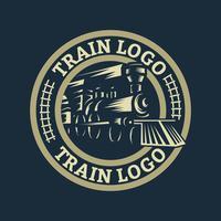 Logotipo da locomotiva vetor