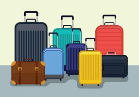 Ilustração vetorial de bagagem vetor