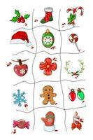 vetor de conjunto de ícones de natal