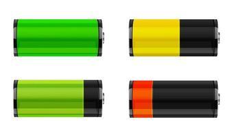 ícone de carga da bateria vetor