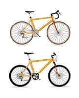 conjunto de esporte de bicicleta
