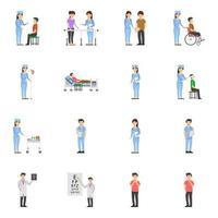 atividades médico-hospitalares vetor