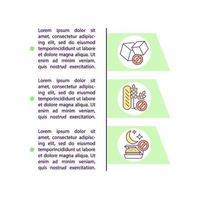 ícone do conceito de dieta com texto