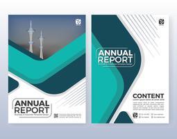 Projeto de layout de folheto de múltiplos propósitos empresariais. Adequado para