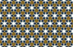 sem costura de fundo árabe padrão em estilo islâmico. pano de fundo geométrico ornamento muçulmano. ilustração do papel de parede do vetor eps10