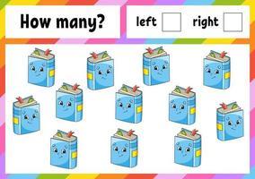 quantos jogos para crianças vetor