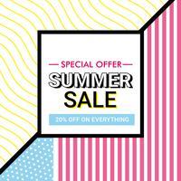 Vector Super oferta de venda Design