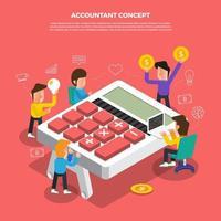 equipe trabalhando em contabilidade empresarial