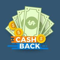 conceito de ilustração de dinheiro vetor