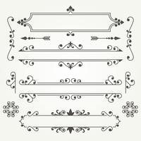 Ornamentos decorativos 2 vetor
