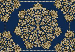 Ornamento Decorativos De Ouro Vector