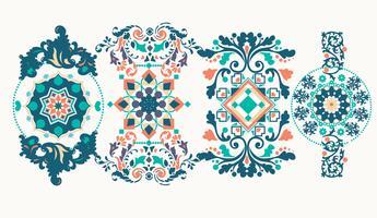 Ornaments decorativos Vol 2 Vector