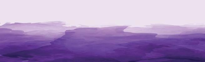 textura panorâmica aquarela azul realista sobre fundo branco - vetor