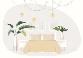Vetorial, abstratos, sala, ilustração