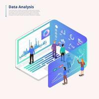 ferramentas de análise de dados vetor