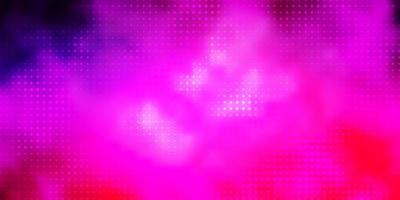 fundo vector rosa claro roxo com círculos.