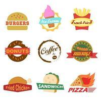 logotipo de fast food