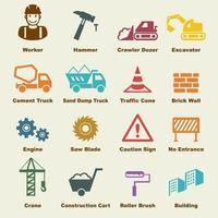 elementos do vetor de construção