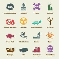 elementos do vetor de poluição