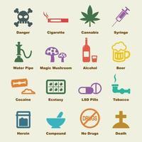 elementos do vetor de drogas