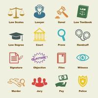 elementos do vetor de lei