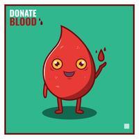 Vetor de unidade de sangue