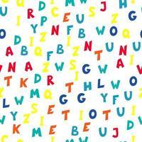 alfabeto padrão sem emenda