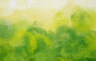 fundo verde orgânico em estilo aquarela vetor