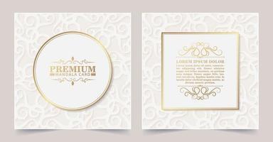 cartão decorativo floral branco luxuoso