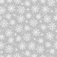 flocos de neve sem costura padrão branco. design de natal. imagem para impressão, papel de embalagem e têxteis de ano novo. vetor